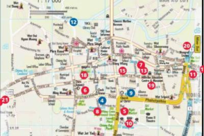 mkcrtour.com chiang rai Map for Chiang Rai