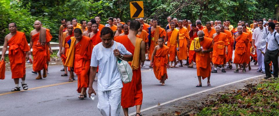 The Long Walk from Chiang Saen to Doi Tung