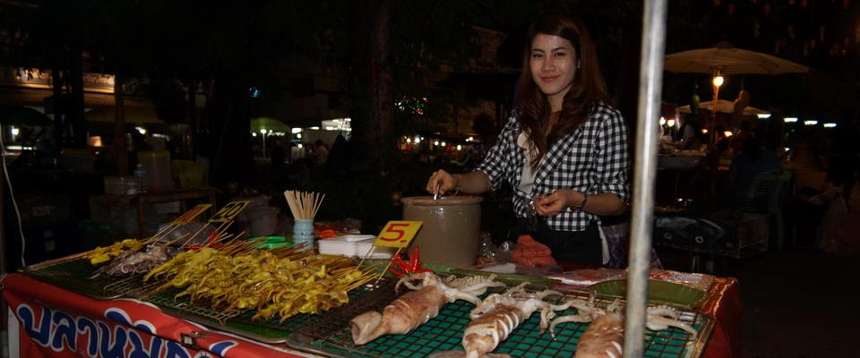 Walking Street, food for everyone